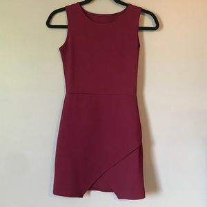 Red/velvet dress from prom girl, worn once